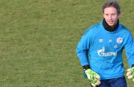 Wieder auf dem Platz: Frederik Rönnow vom FC Schalke 04