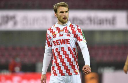 Sebastian Andersson vom 1. FC Köln