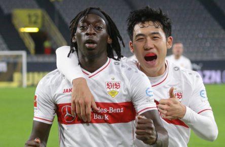 Tanguy Coulibaly und Wataru Endo
