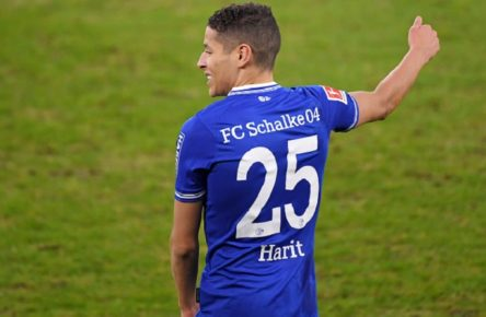 Fussball Amine Harit Schalke Gelsenkirchen, 09.01.2021, Fussball, Bundesliga, FC Schalke 04 - TSG 1899 Hoffenheim 4:0 Gelsenkirchen *** Football Amine Harit Schalke Gelsenkirchen, 09 01 2021, Football, Bundesliga, FC Schalke 04 TSG 1899 Hoffenheim 4 0 Gelsenkirchen Poolfoto Peters/Witters/Pool/Witters via David Inderlied/Kirchner-Media ,EDITORIAL USE ONLY