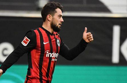 Amin Younes von Eintracht Frankfurt