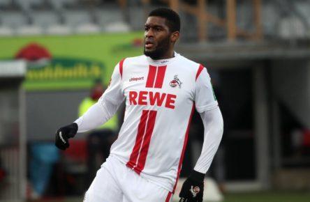Anthony Modeste vom 1. FC Köln