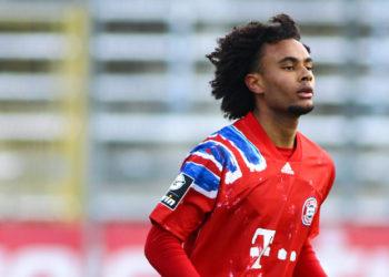 Zuletzt nur bei der Zweitvertretung in der 3. Liga für den FC Bayern München aktiv: Joshua Zirkzee