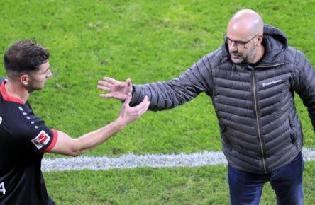 Lucas Alario von Bayer 04 Leverkusen