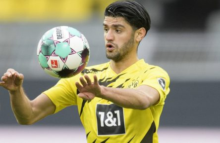 Fussball 1. Bundesliga/ Borussia Dortmund - Arminia Bielefeld Mahmoud DAHOUD DO Fussball 1. Bundesliga, 23. Spieltag, Borussia Dortmund DO - Arminia Bielefeld BI, am 27.02.2021 in Dortmund/Deutschland. Foto: Anke Waelischmiller/ SVEN SIMON/ POOL DFL regulations prohibit any use of photographs as image sequences and/or quasi-video Editorial Use ONLY National and International News Agencies OUT Dortmund Signal-Iduna-Park NRW Deutschland *** Football 1 Bundesliga Borussia Dortmund Arminia Bielefeld Mahmoud DAHOUD DO Football 1 Bundesliga, Matchday 23, Borussia Dortmund DO Arminia Bielefeld BI , on 27 02 2021 in Dortmund Germany Photo Anke Waelischmiller SVEN SIMON POOL DFL regulations prohibit any use of photographs as image sequences and or quasi video Editorial Use ONLY National and International News Agencies OUT Dortmund Signal Iduna Park NRW Germany Poolfoto SVEN SIMON/POOL ,EDITORIAL USE ONLY