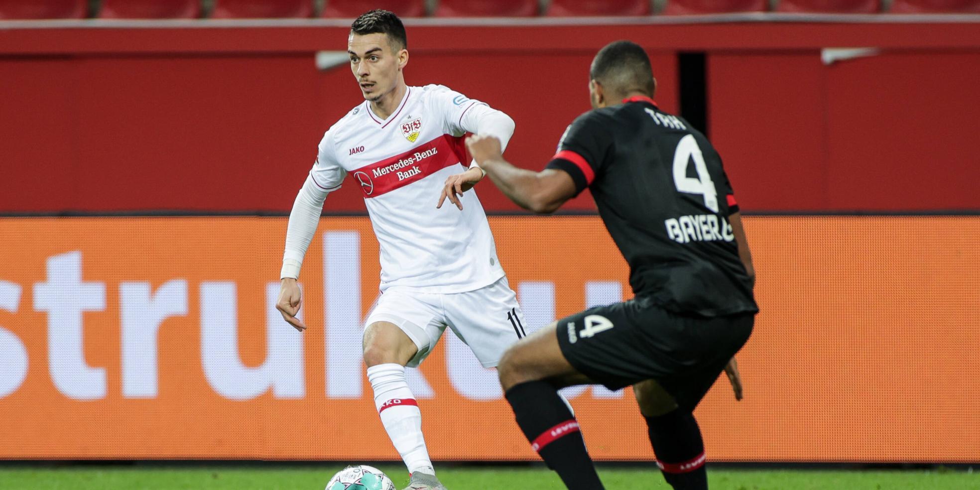 Erik Thommy vom VfB Stuttgart