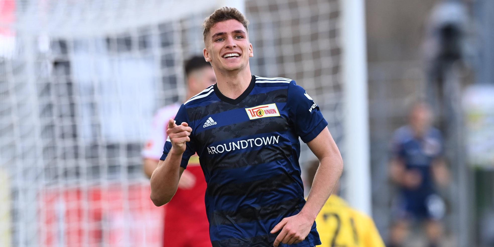 Grischa Prömel vom 1. FC Union Berlin
