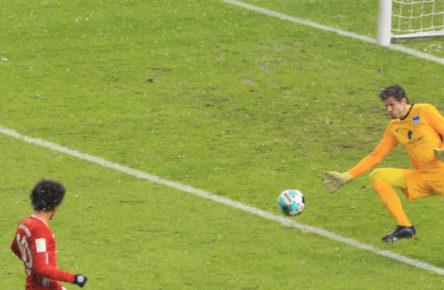 Bärenstark gegen Bayern: Rune Jarstein von Hertha BSC