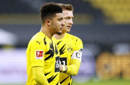 Jadon Sancho und Marco Reus vom BVB