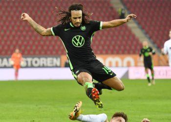 Kevin Mbabu vom VfL Wolfsburg