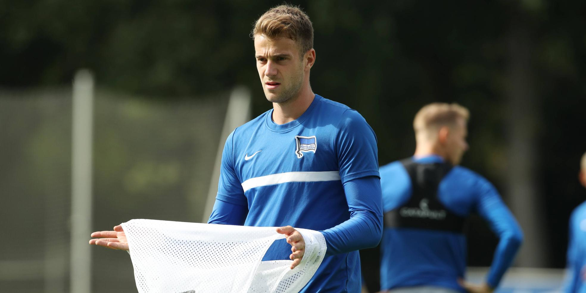 Lukas Klünter von Hertha BSC