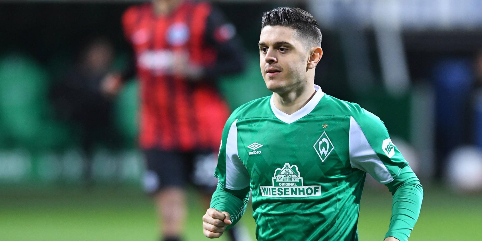 Milot Rashica vom SV Werder Bremen