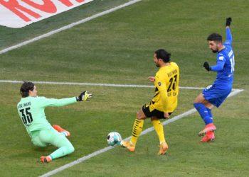 Munas Dabbur trifft für Hoffenheim gegen Dortmund