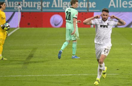 Dreht gegen Mönchengladbach auf: Marco Richter vom FC Augsburg