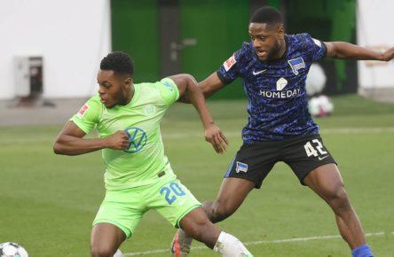 Deyovaisio Zeefuik von Hertha BSC