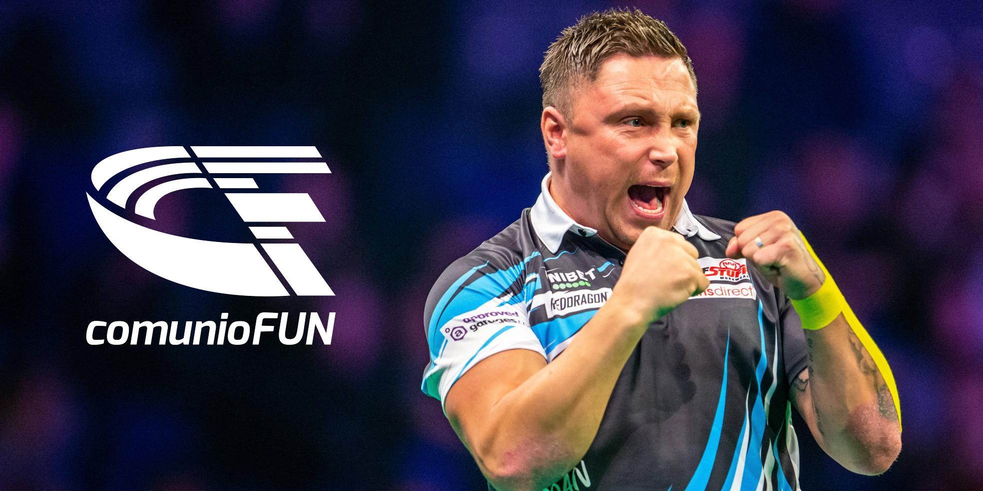 Weltmeister Gerwyn Price ist einer der Favoriten der Premier League Darts 2021