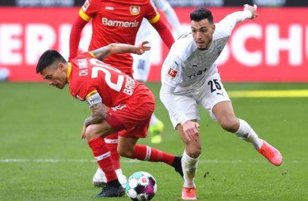 Ramy Bensebaini von Borussia Mönchengladbach