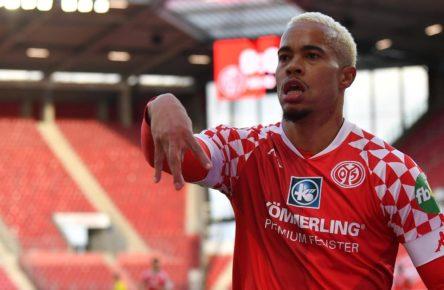 Robin Quaison trifft für den FSV Mainz 05