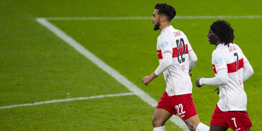 Im Fokus beim VfB Stuttgart: Nicolas Gonzalez und Tanguy Coulibaly (v.l.n.r.)