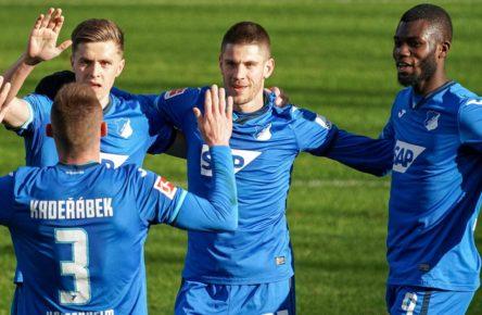 TSG Hoffenheim: Kaderabek, Baumgartner, Kramaric, Bebou