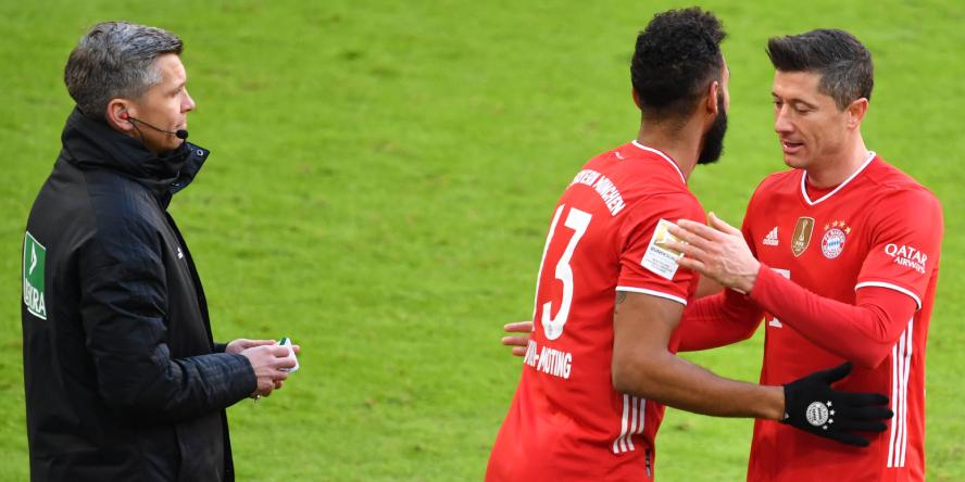 Ersetzt Eric Maxim Choupo-Moting beim FC Bayern München den verletzten Robert Lewandowski?