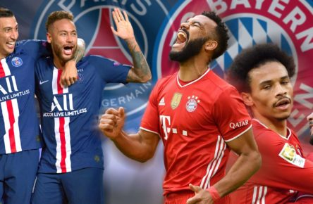 Choupo Moting Sane Gnabry Championgs League