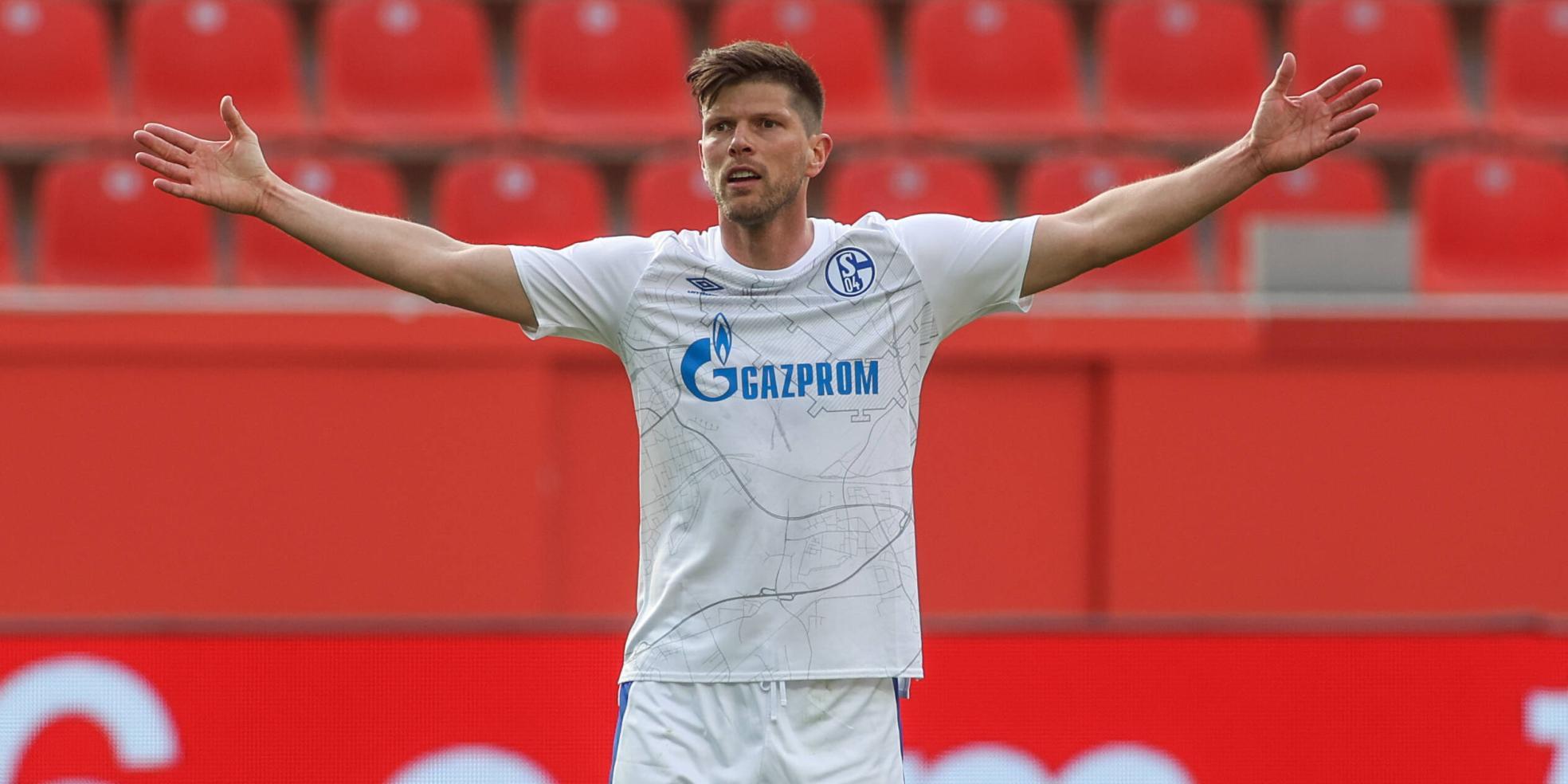 Klaas-Jan Huntelaar vom FC Schalke 04