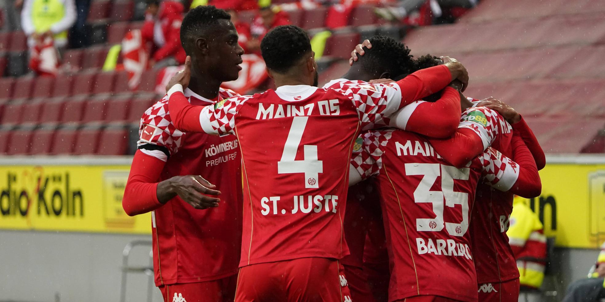Der 1. FSV Mainz 05 ist in der Erfolgsspur
