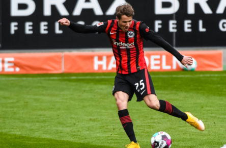 Fast-Stammspieler bei Eintracht Frankfurt: Erik Durm