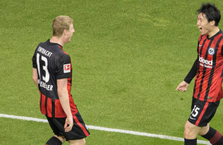 Klare Leistungsträger bei Eintracht Frankfurt: Martin Hinteregger und Daichi Kamada