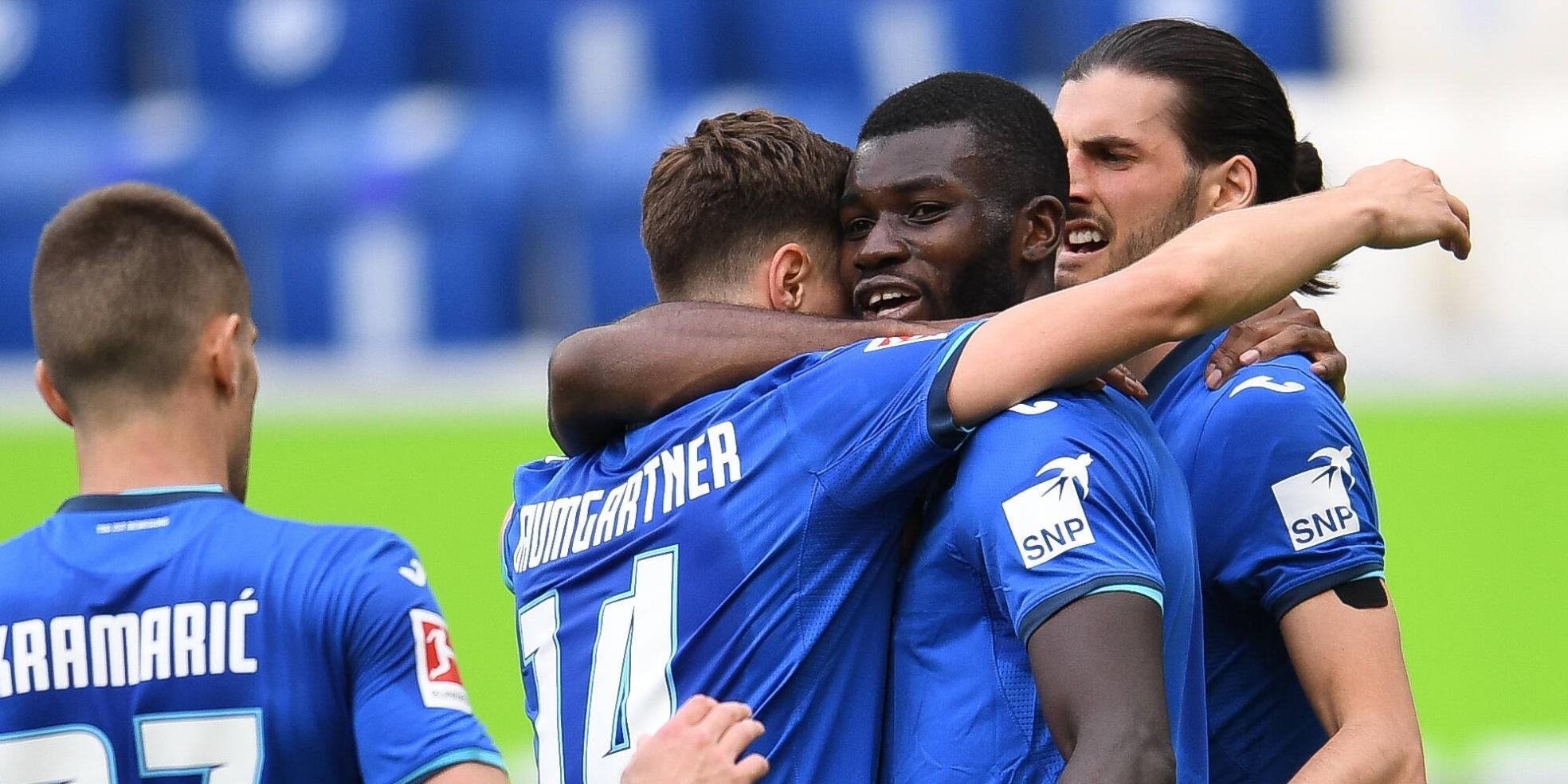 Ihlas Bebou trifft für Hoffenheim, Baumgartner und Grillitsch jubeln