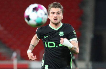 Maximilian Philipp vom VfL Wolfsburg