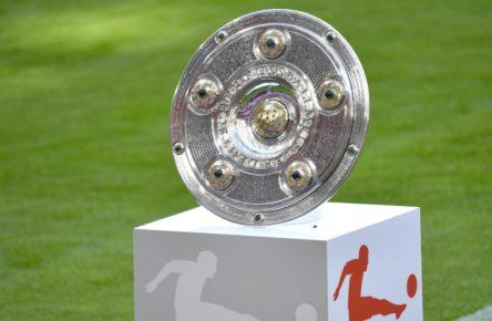 Die Meisterschale der Bundesliga
