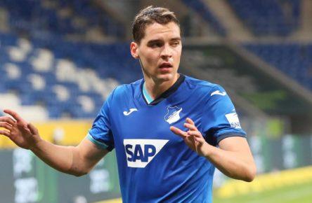 Robert Skov von der TSG Hoffenheim