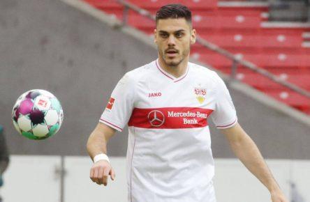 Konstantinos Mavropanos vom VfB Stuttgart
