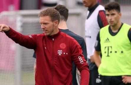 Julian Nageslmann ist der neuen Trainer beim FC Bayern München.