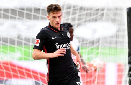 Ajdin Hrustic trifft für Eintracht Frankfurt