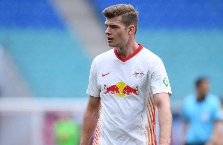 Alexander Sörloth von RB Leipzig