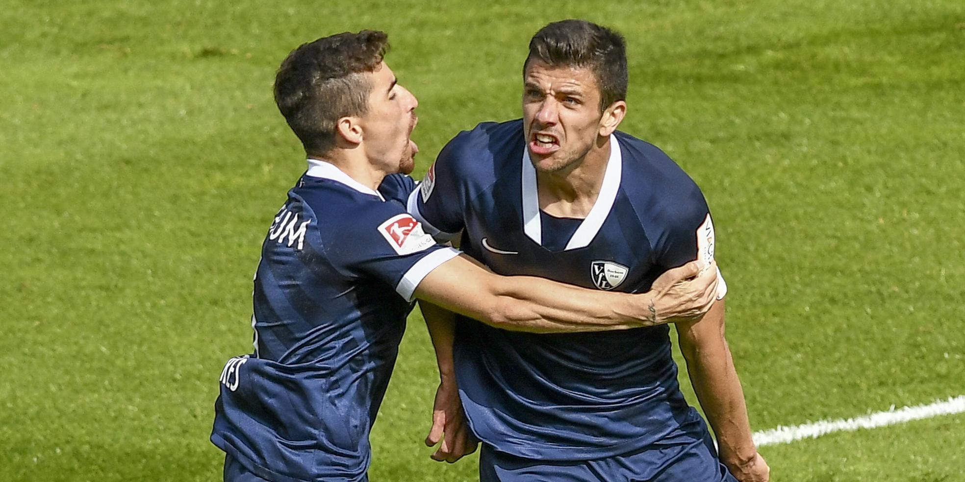 Danilo Soares und Anthony Losilla vom VfL Bochum