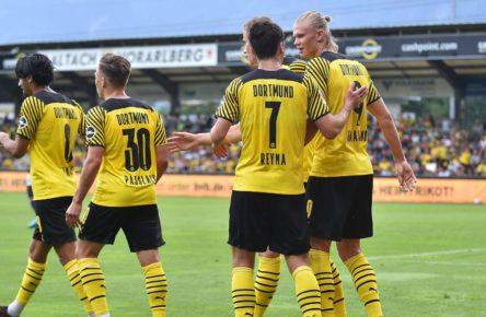 Borussia Dortmund gewinnt das Testspiel gegen den FC Bologna