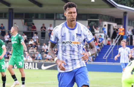 Davie Selke trifft dreimal für Hertha BSC