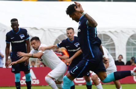 Davie Selke trifft erneut für Hertha BSC