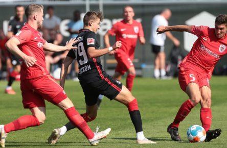 Jesper Lindström trifft für Eintracht Frankfurt