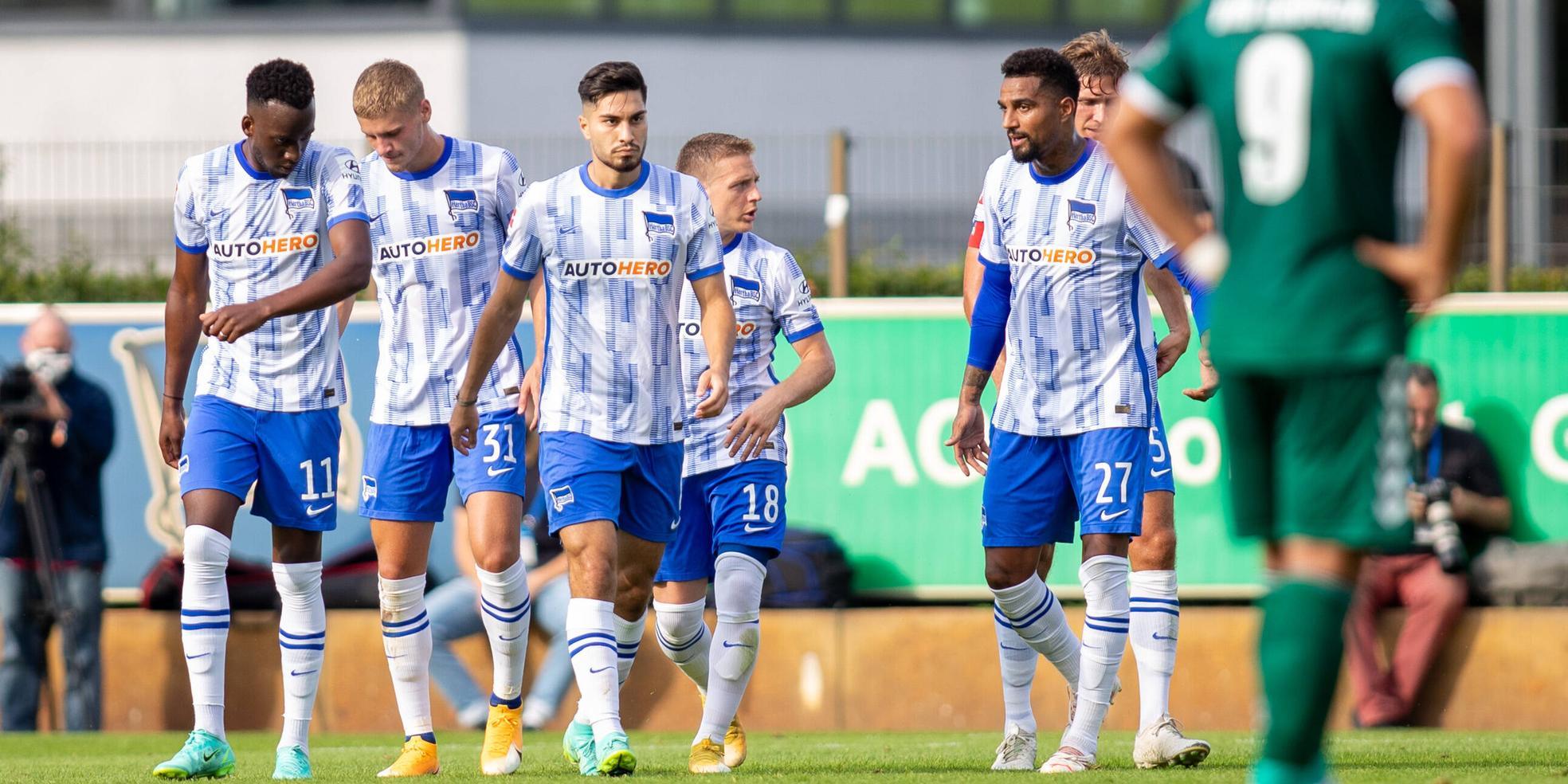Hertha BSC mit den Neuzugängen Serdar und Boateng