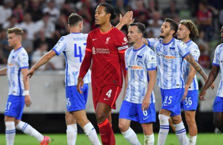 Stevan Jovetic trifft doppelt für Hertha gegen Liverpool