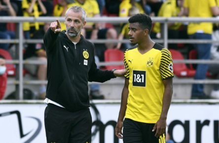 BVB: Startet Ansgar Knauff unter Marco Rose durch?