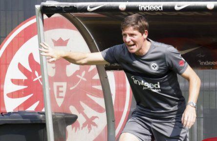 Eintracht Frankfurts neuer Trainer Oliver Glasner