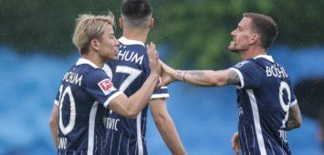 Takuma Asano trifft für den VfL Bochum