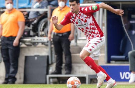 Wieder beim 1. FSV Mainz 05 am Ball: Aaron Martin