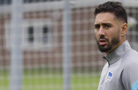 Ishak Belfodil und Co. - noch keine fröhlichen Mienen bei Hertha BSC